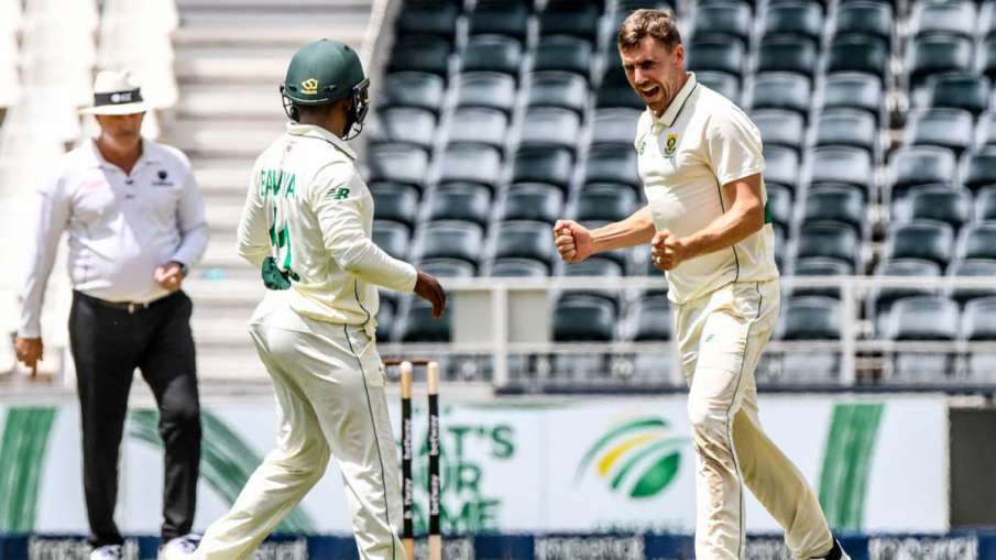 PAK vs SA 2nd Test, Day 2: South Africa made 104/4 after 5 wickets of Notarje- India TV Hindi