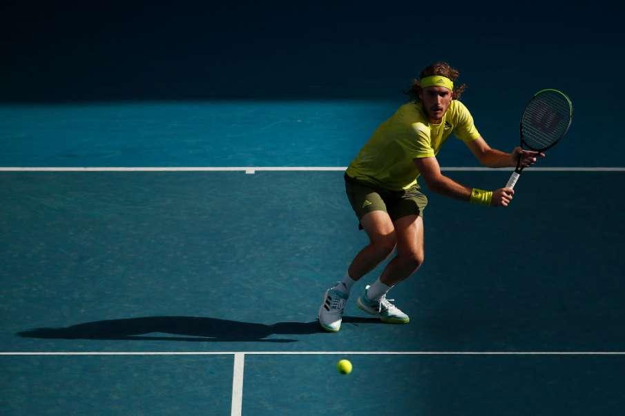 Australian Open 2021: Stefanos Tsitsipas, Andre Rublev and Mateo Berrettini reach third round - India TV Hindi