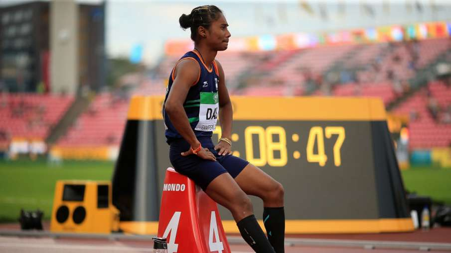Hima Das Will continue running for the country even after becoming DSP? Sports Minister replied- India TV Hindi