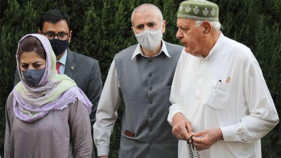 Farooq Abdullah, Farooq Abdullah Gupkar Alliance, Gupkar Alliance, Gupkar Alliance DDC Elections- India TV Hindi