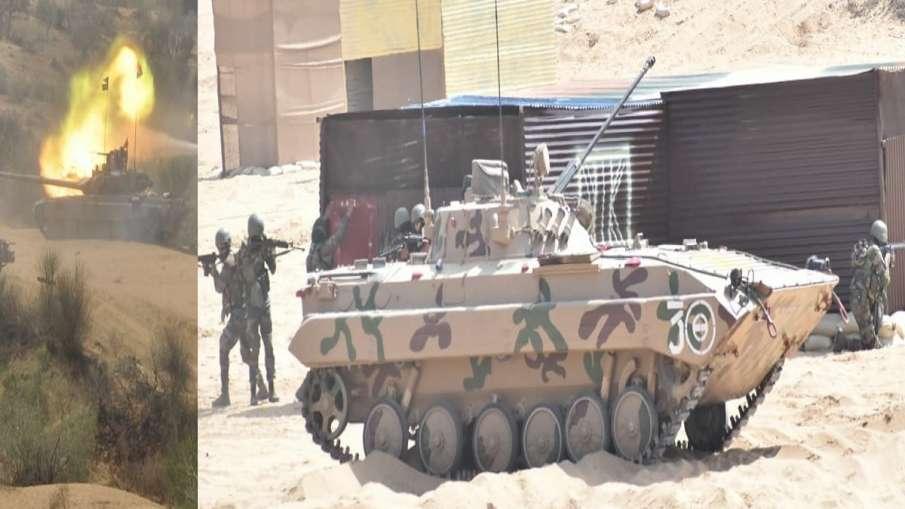 युद्धाभ्यास: अमेरिका संग मिलकर गरजे भारत के टैंक और हेलीकॉप्टर, देखिए VIDEO- India TV Hindi