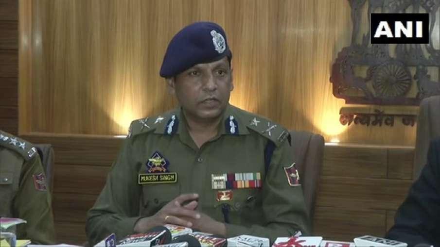 Jammu Inspector General of Police (IG) Mukesh Singh- India TV Hindi