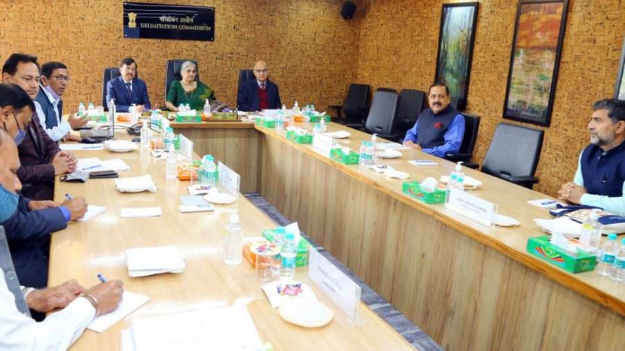 Jammu Kashmir Delimitation, Jammu Kashmir Delimitation meeting, J&K Delimitation- India TV Hindi