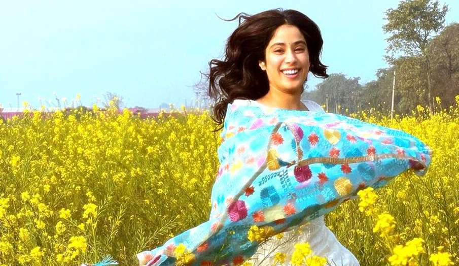 janhvi kapoor new pic from good luck jerry film shooting- India TV Hindi