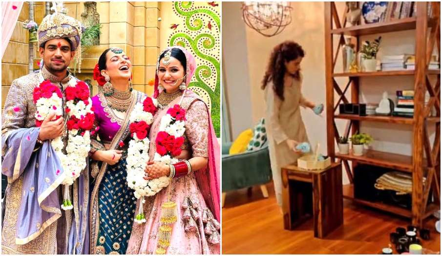 kangana ranaut designing brothers and bhabhi house - India TV Hindi