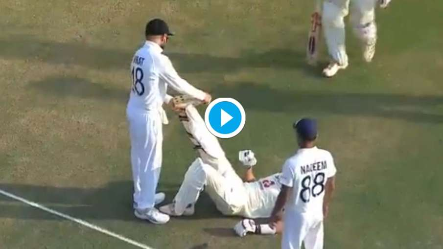 IND vs ENG: Virat Kohli showed his generosity by helping those who got injured, watch the video- India TV Hindi