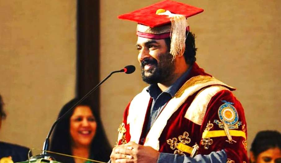 R Madhavan degree of Doctor of Letters for contribution to arts and cinema says This is an honor and- India TV Hindi