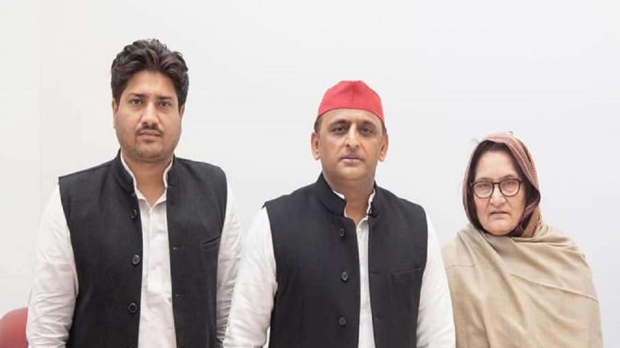 gangster act against tabassum hasan nahid hasan सपा विधायक नाहिद हसन और उनकी मां तबस्सुम हसन की मुश्- India TV Hindi