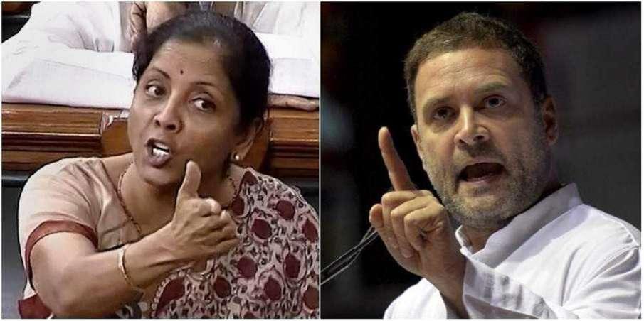 Doomsday Man Meaning: Nirmala Sitharaman Rahul Gandhi doomsday man for India- India TV Hindi