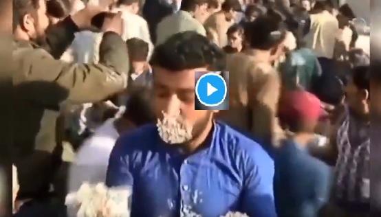 Pakistan fighting for Cake Video Shah Mahmood Qureshi Program- India TV Hindi