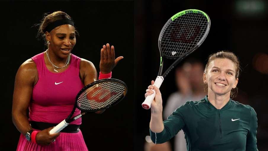 Serena Williams and Simona Halep- India TV Hindi
