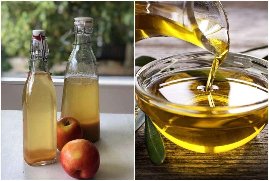Apple cider vinegar and olive oil- India TV Hindi