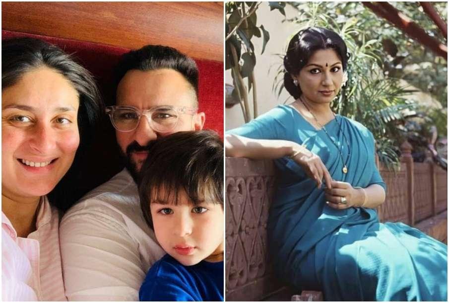 Kareena, Saif, Taimur and Sharmila - India TV Hindi