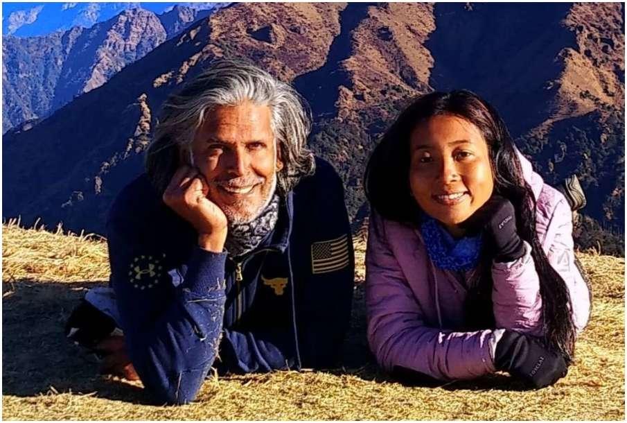 Milind Soman and Ankita Konwar- India TV Hindi