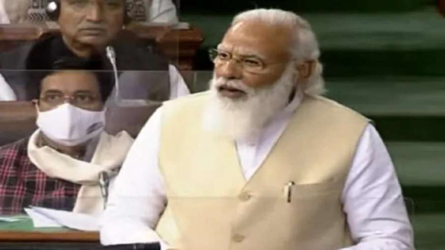 For the first time a new argument has come, we did not ask, so why did you give: Modi- India TV Hindi