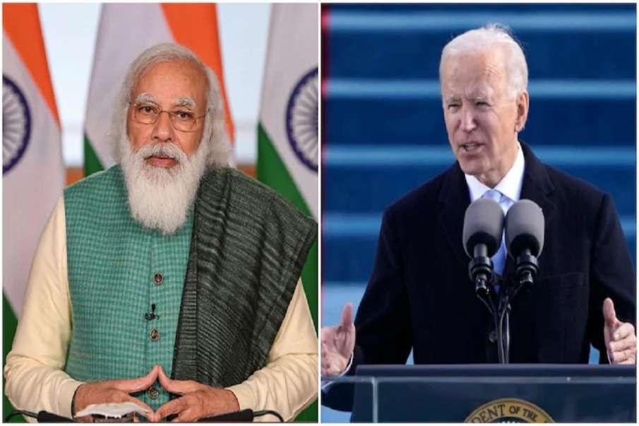 PM Narendra Modi speaks with US President Joe Biden- India TV Hindi