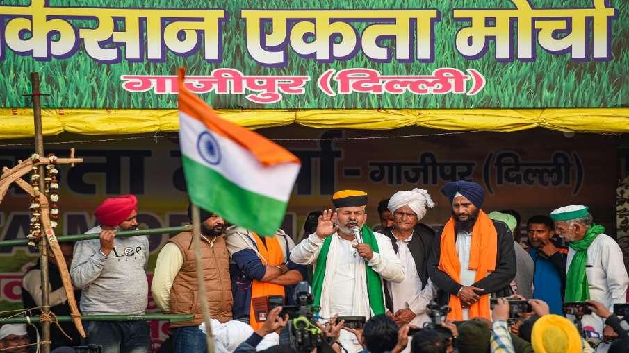 Rakesh Tikait Tractor Rally kisan andolan republic day राकेश टिकैत क्यों बोले- अपने ट्रैक्टर पर 'ट्र- India TV Hindi