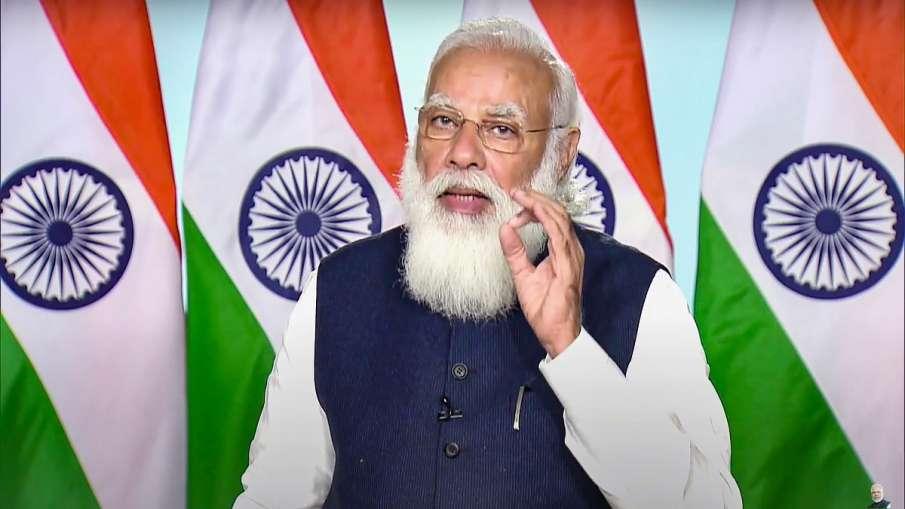 Narendra Modi Tejas Defence Items made in india Aatmanirbhar bharat PM बोले- तेजस को फाइलों में बंद - India TV Hindi