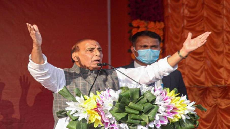 Political violence has reached 'new high' under TMC government: Rajnath Singh- India TV Hindi