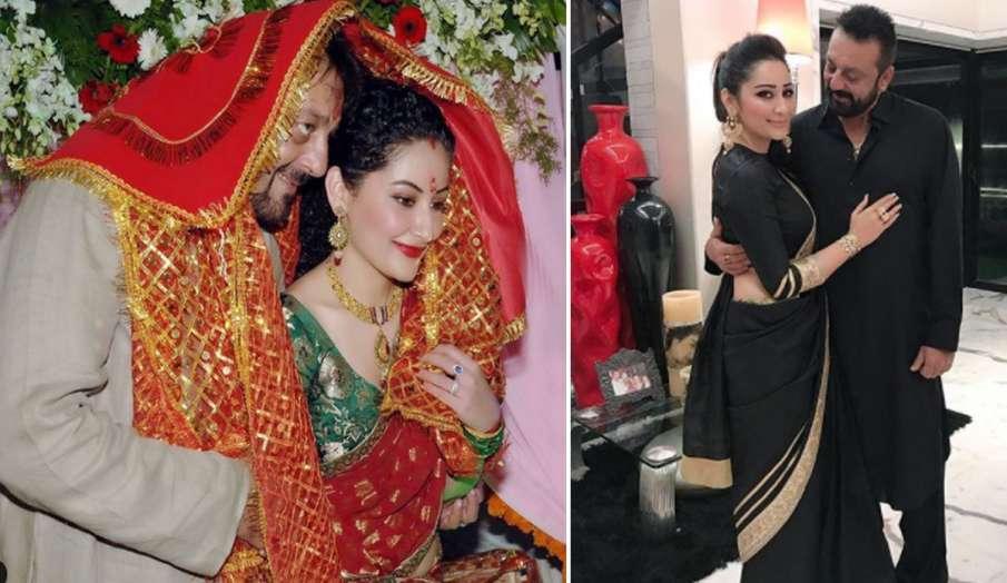 संजय दत्त ने शादी की सालगिरह पर पत्नी मान्यता के साथ शेयर की रोमांटिक तस्वीर, लिखा- अब पहले से ज्याद- India TV Hindi