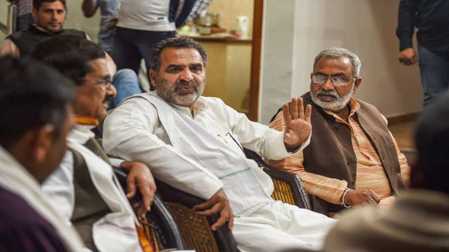 Sanjeev Balyan says announcement were made from mosque after ruckus in his program by RLD SP workers- India TV Hindi