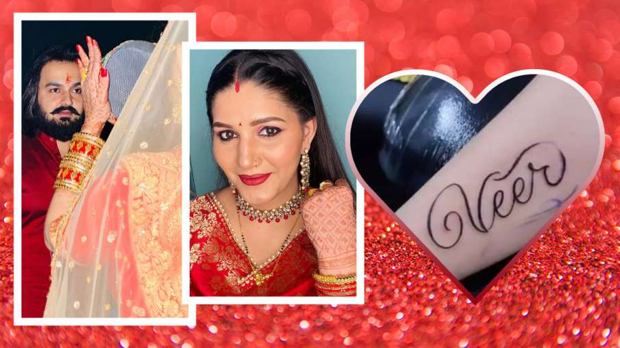 sapna choudhary make tattoo - India TV Hindi