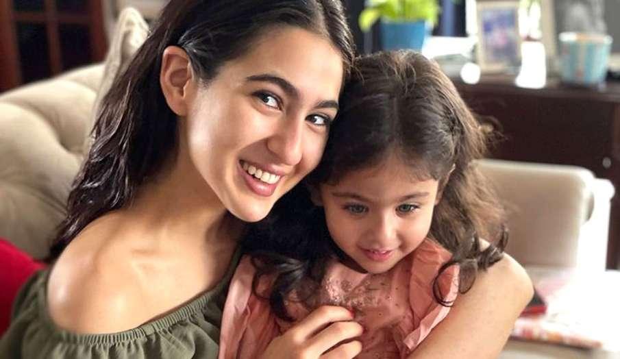 इनाया के साथ सारा अली...- India TV Hindi