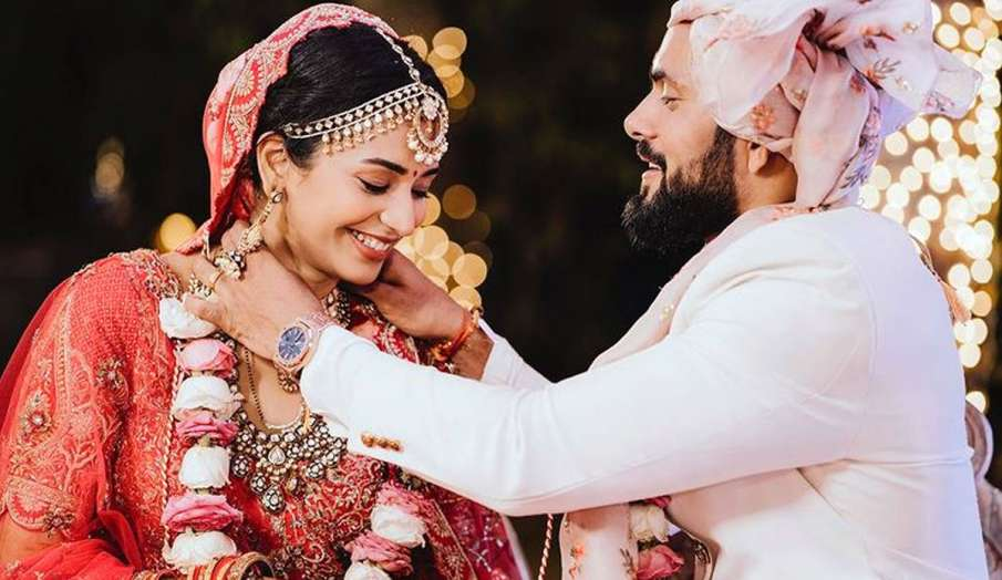 scam 1992 actress anjali barot ties knot with boyfriend gaurav arora - India TV Hindi