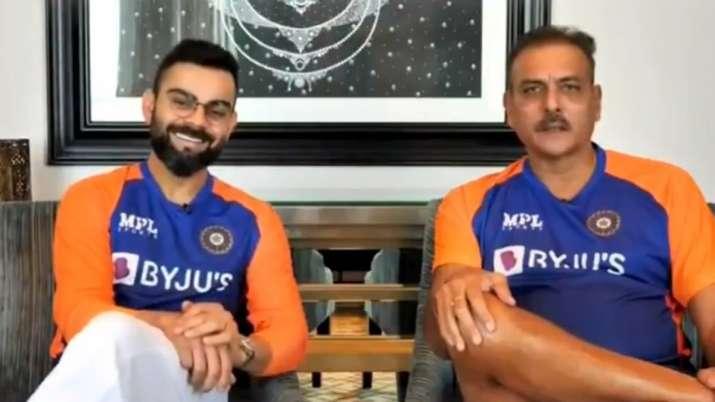 Virat Kohli and Ravi Shastri- India TV Hindi