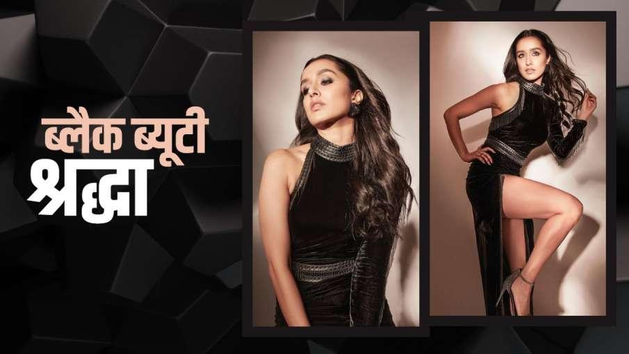 थाई स्लिट गाउन में ग्लैमरस अंदाज में नजर आईं ऋद्धा कपूर, अथिया शेट्टी ने किया प्यारा सा कमेंट- India TV Hindi
