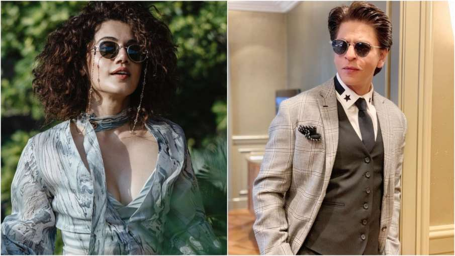 taapsee pannu and shahrukh khan- India TV Hindi