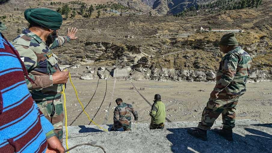 चमोली आपदा: ऋषि गंगा नदी का जलस्तर बढ़ने से तपोवन टनल में रेस्क्यू ऑपरेशन रुका- India TV Hindi