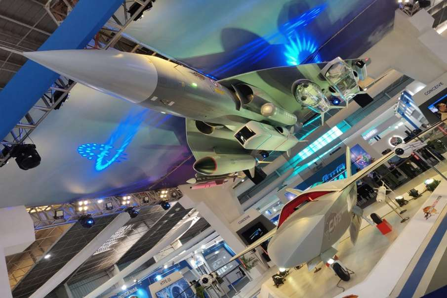 LCA Tejas WARRIOR drone Aero India 2021 latest news- India TV Hindi