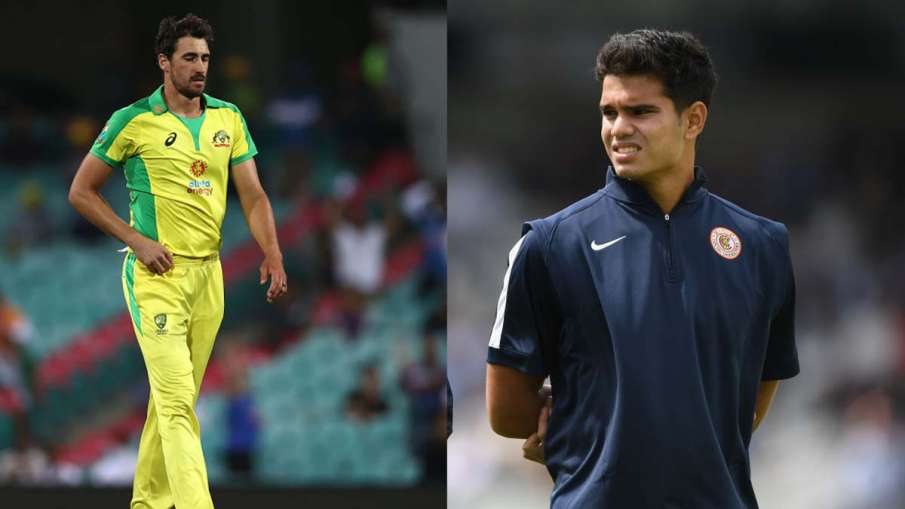 Arjun Tendulkar sent name in IPL 2021 auction, Mitchell Starc took this big decision- India TV Hindi