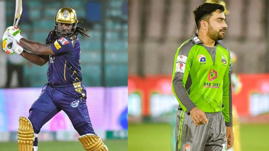 Chris Gayle and Rashid Khan returning home Pakistan Super League- India TV Hindi