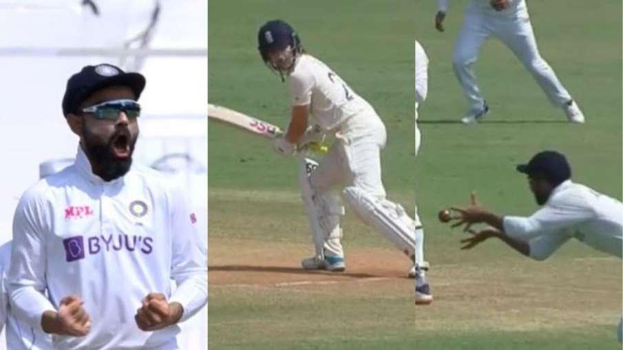 Watch, Rory Burn, Ashwin, India vs England, test match, cricket- India TV Hindi