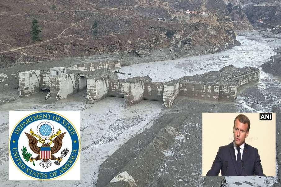 US State Department & france reaction on Uttarakhand Chamoli glacier burst Disaster IAF latest updat- India TV Hindi