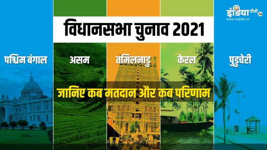 West bengal assam tamil nadu kerala and puducherry vidhan sabha chunav elections polling results- India TV Hindi