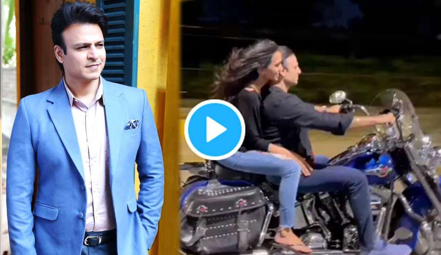 vivek oberoi fines for riding bike without helmet and mask - India TV Hindi