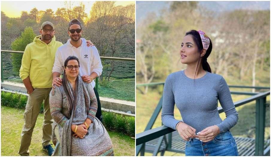 Bigg Boss 14 Aly Goni family photo jasmin bhasin comment goes viral - India TV Hindi