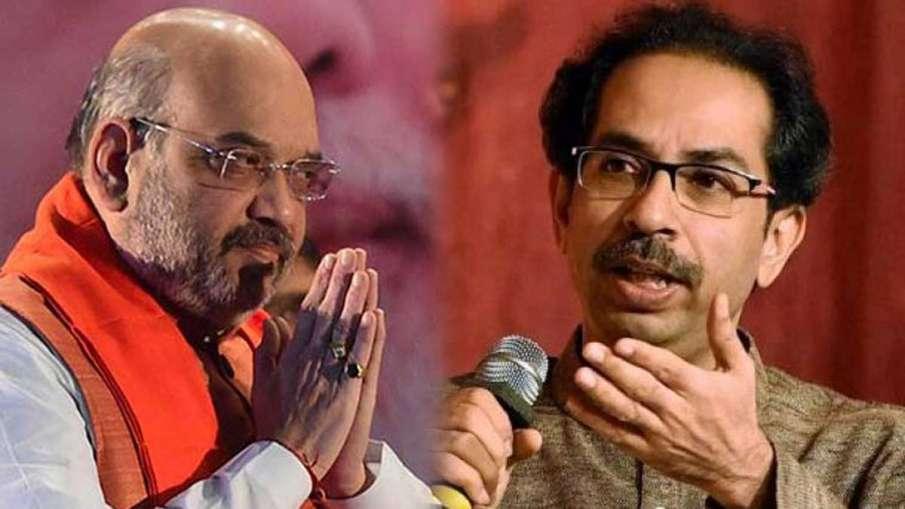amit shah uddhav thackeray heated arguments, amit shah uddhav Thackeray- India TV Hindi