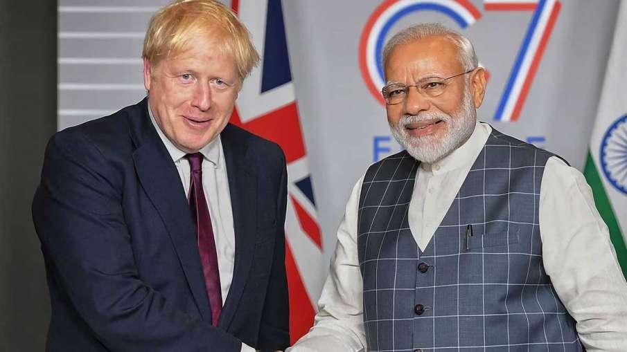 Boris Johnson, Boris Johnson Narendra Modi, Boris Johnson Modi, Boris Johnson Britain- India TV Hindi