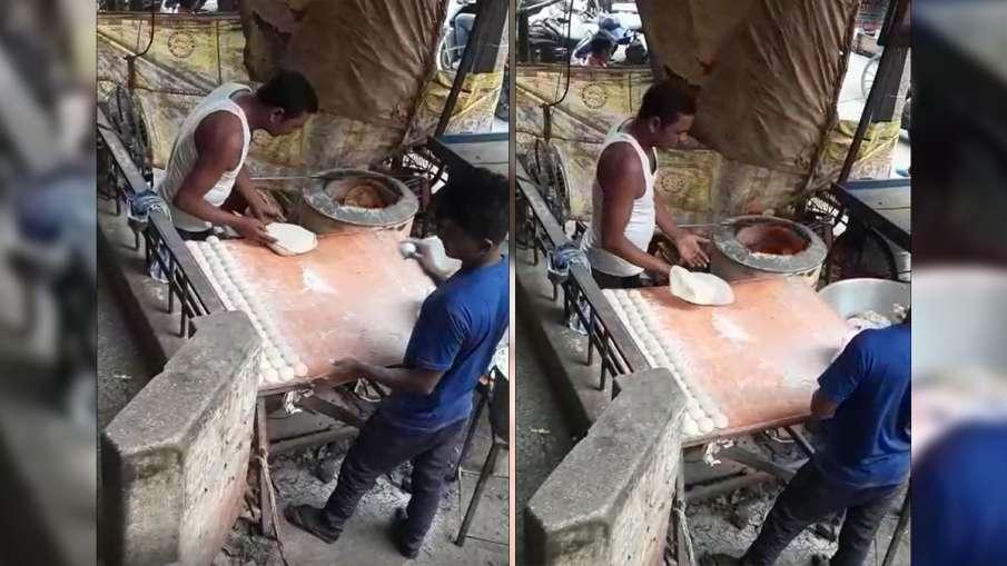 तंदूर में रोटिया...- India TV Hindi