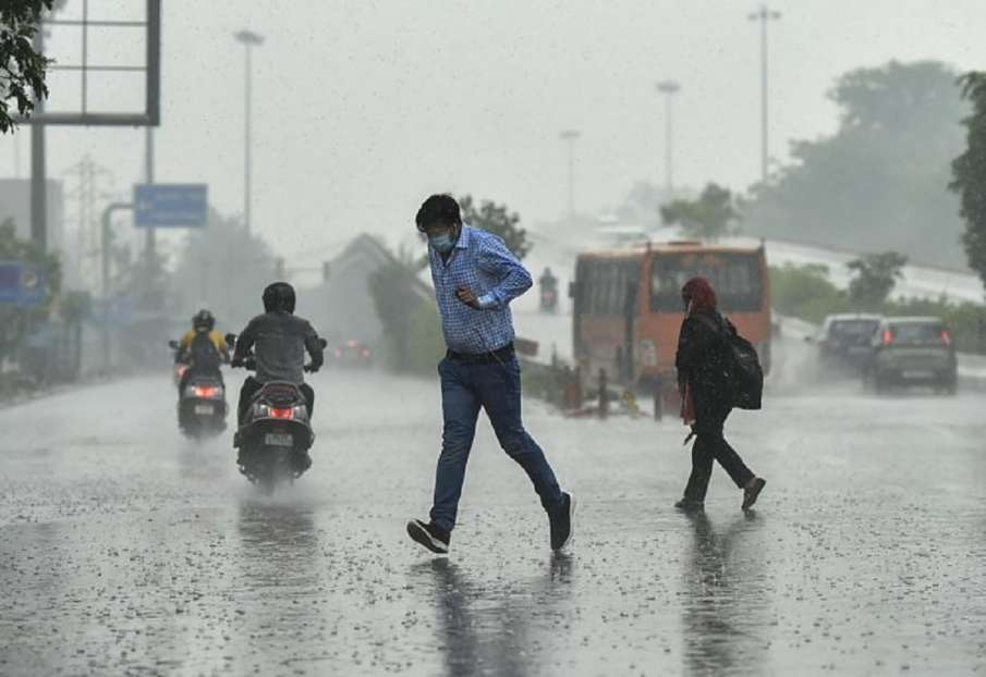 IMD alert weather forecast rain alert in Delhi, Rajasthan, Haryana, Uttar Pradesh western-disturbanc- India TV Hindi