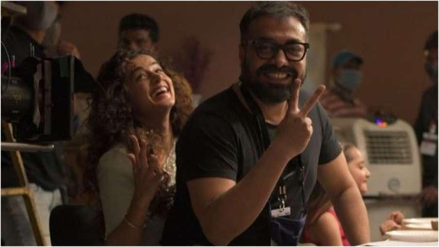 Anurag Kashyap,Taapsee Pannu- India TV Hindi