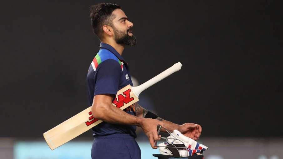 Virat Kohli made a jump in ICC T20I rankings, included in top 5 batsmen- India TV Hindi
