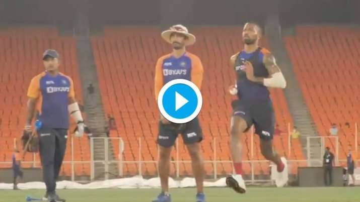 IND vs ENG: Hardik Pandya practiced for T20, Dhawan can stay out of the team- India TV Hindi