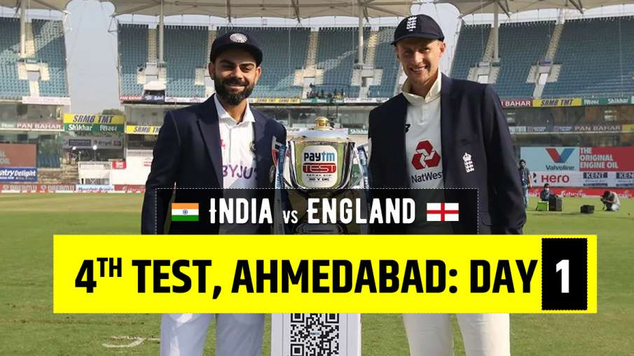 IND vs ENG live score India vs England 4th Test 2021 ball by ball updates from Narendra Modi Stadium- India TV Hindi