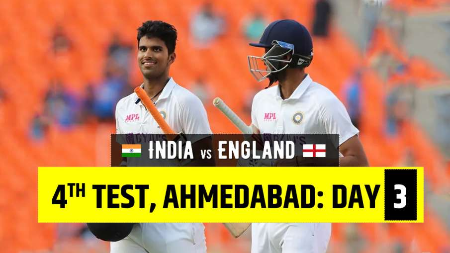 India vs England 2021 live cricket score 4th test day 3 ball by ball match updates from Narendra Mod- India TV Hindi