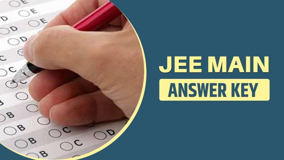 JEE Main 2021 Answer key- India TV Hindi